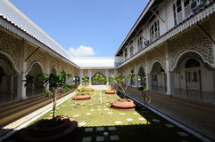 Courtyard of Masjid Sultan Ismail in Chendering, Terengganu Stock Photo