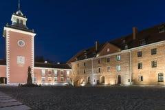 Courtyard of Medieval Gothic castle in Lidzbark Warminski Stock Photography
