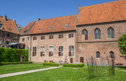 Courtyard of the monastery in Elburg Stock Photography