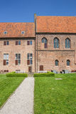 Courtyard of the monastery in Elburg Royalty Free Stock Photo