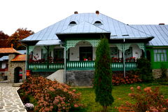 Courtyard of Monastery Suzana Royalty Free Stock Photos