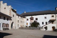 Courtyard of Monastery royalty free stock photos