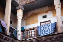 Courtyard of Moroccan house Stock Photo