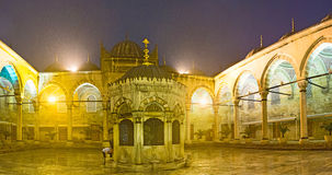 The courtyard of the Mosque Stock Image