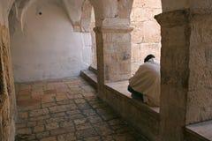 Courtyard at Mount Zion, Jerusalem Stock Image