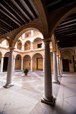 Courtyard in the Municipal Museum of Alcala la Real Royalty Free Stock Photos