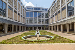 Courtyard of the Museo de Bellas Artes, Havana, Cuba Stock Images