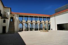 Courtyard of the Museum Machado. De Castro in Coimbra Royalty Free Stock Photos