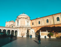 Courtyard. Museum of Vatican. Stock Photos