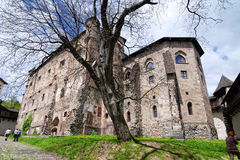 Courtyard Of The Old Castle In Banska Stiavnica Royalty Free Stock Photo