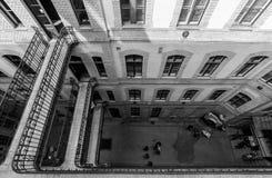 Courtyard Royalty Free Stock Photos