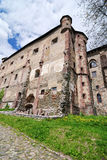 Courtyard of the Old castle in Banska Stiavnica Stock Photos