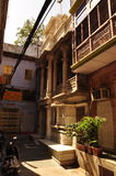 Courtyard in the old city of Delhi, India Stock Photo