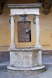 The courtyard of the Palazzo Chigi-Saracini Royalty Free Stock Image