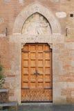 The courtyard of the Palazzo Chigi-Saracini Royalty Free Stock Photography