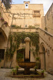 Courtyard of Palazzo Falson in Mdina, Malta Royalty Free Stock Images