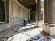 Courtyard, Petit Palais, Paris, France Stock Photo