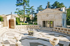 Courtyard of the Pontifical Academy of Sciences Royalty Free Stock Images