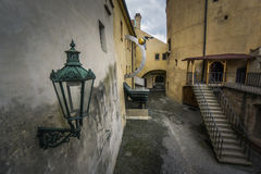 Courtyard in Prague Castle Stock Photography