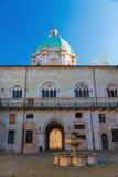 Courtyard Prefecture Brescia Stock Image