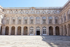 Courtyard of the Royal palace Stock Images