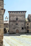 Courtyard of Santillana del Mar Stock Photos