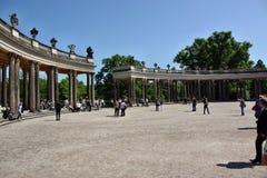 Courtyard Schloss Sanssouci Royalty Free Stock Image