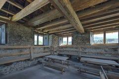 Tower of Spiez castle, Switzerland royalty free stock photo