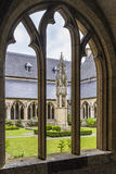 Courtyard at St. Viktordom. Stock Photography