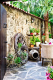 Courtyard Stock Photography