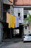Courtyard in Tbilisi Stock Photo