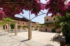 Courtyard of theatre in Arta, Mallorca Royalty Free Stock Photos