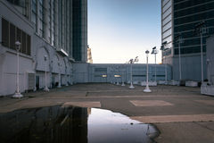 Courtyard at the Trump Taj Mahal in Atlantic City, New Jersey. Stock Photo