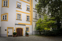 Courtyard in Vienna Royalty Free Stock Photos