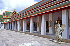 Courtyard at the Wat Pho. In Bangkok, Thailand Stock Images