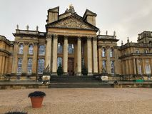 Courtyard of Winston Churchill`s Birthplace at Blenheim Palace UK royalty free stock photography