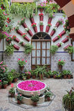 "Courtyards (""Patios"") of Cordoba Royalty Free Stock Images"