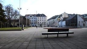 Courtyyard Vorplatz Neuer Dom Linz lager videofilmer