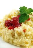 Cous cous stock photo