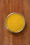 Cous cous in bowl Stock Photography