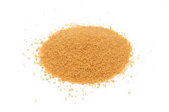Cous Cous grains pile isolated Stock Image