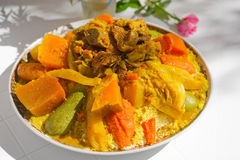 Cous cous with meat Royalty Free Stock Image