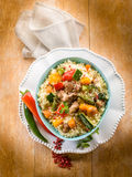 Cous cous with meat Stock Photography
