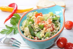 Cous cous salad Stock Photo