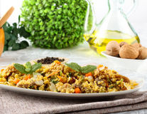 Cous Cous with vegetables Royalty Free Stock Photography
