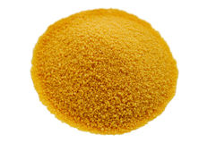 Cous Cous White Background stock photo