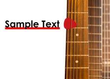 Cous de guitare Image stock