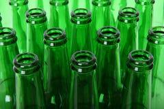 Cous verts de bouteille Photographie stock