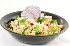 Couscous au curry Photographie stock