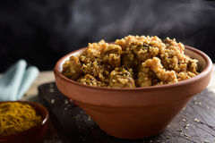 Couscous with chicken and vegetables Royalty Free Stock Images